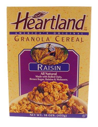 Heartland Brands Granola Cereal, Raisin, 14 oz
