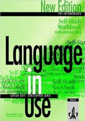 Language in Use Pre-Intermediate New Edition Self-study workbook