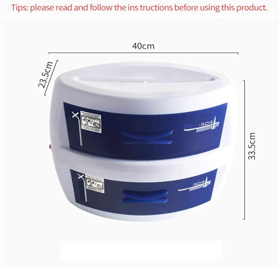 Nail Sterilization And Disinfection Box Hairdressing 8W Ozone UV 220V Disinfection Cabinet Double Layer Beauty