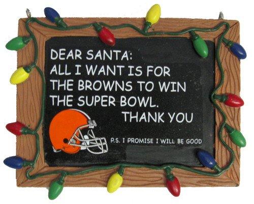 Cleveland Browns Chalkboard Sign