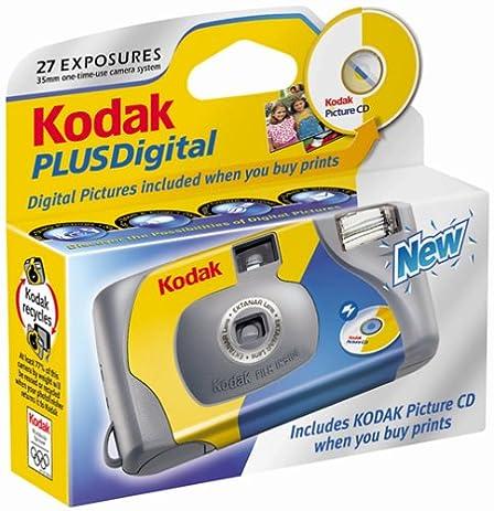 Amazon.com : Kodak Plus One-Time-Use Digital Camera : Single Use ...