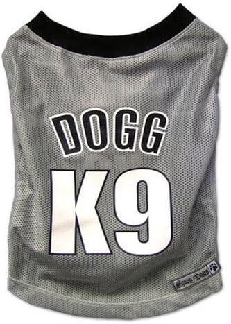 Amazon.com : Snoop Dogg Pets Polyester Basketball Jersey, Light ...