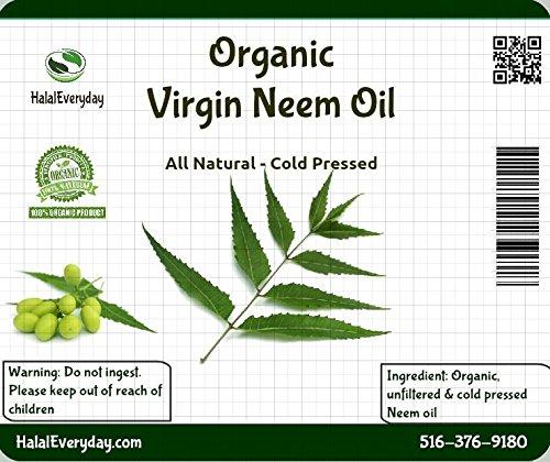 Neem oil 100% pure cold pressed - 16 oz