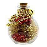 "Round Glass Spherical Bottles, ""Potion Bottles"" with Corks (2-Pack, 8-Ounce Capacity); Large Bottles for Costume Props… 7"