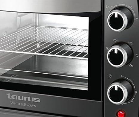 Taurus Horizon 22 Plus Horno potencia de 1500 W, Stainless Steel ...