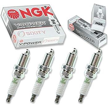 NGK V-Power 4pcs Spark Plugs Honda Civic 92-95 1.6L L4 Kit Set Tune Up