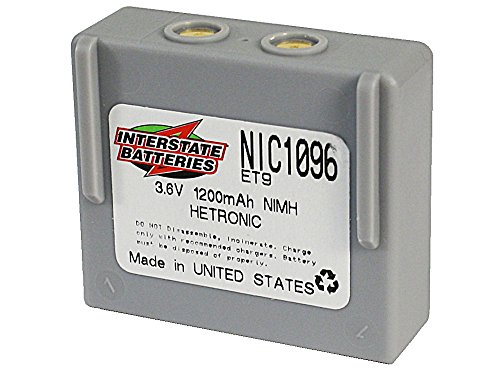 3.6V 2000MAH NIMH HETRONIC by Interstate Batteries