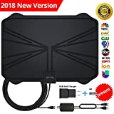 Best Hdtv Antenna Indoor 100 Mile Ranges - TV Antenna, 50 Mile Range Indoor Digital TV Review