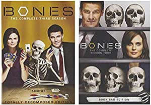 Bones: The Complete Third & Fourth Seasons 3 and 4