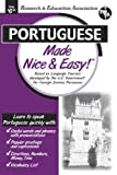 Portuguese Made Nice and Easy, Research & Education Association Editors, 0878913750