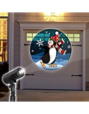 Solayman Tech Holiday LED Penguin Projector