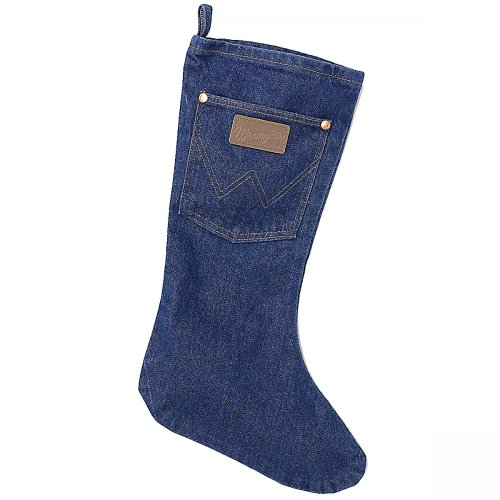 Wrangler Denim Christmas Stocking - Western Christmas Stockings