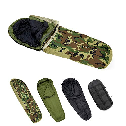 MT Army Mlitary Modular Sleeping Bags System Extremly Cold Resistant Woodland/Multicam