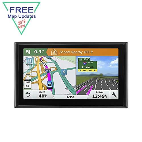 GPS Navigation System, LONGRUF 7-inch 8GB Satellite Navigator, Pre-Installed The Latest US 2019 map Lifetime Free Update