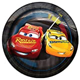 Disney Cars Paper Cake Plates, 8ct