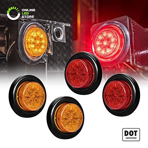 Round LED Light Side Marker product image