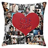 XINPULONG Cole-Sprouse Pillowcase Multicoloured Generalduty Pillow Case Size 18 X 18 Inch / 45 X 45 cm HD HD HD Image