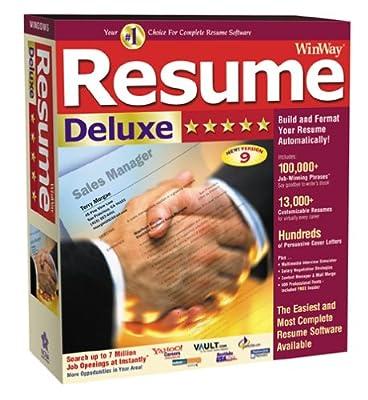 Winway Resume Deluxe.lab