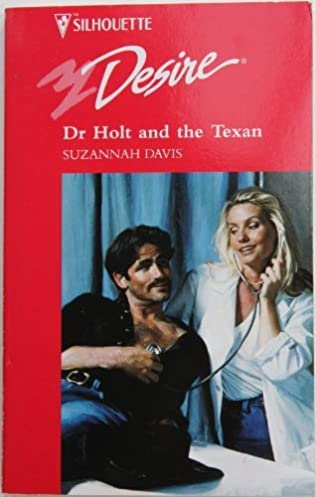 book cover of Dr. Holt and the Texan
