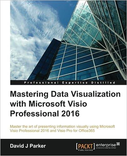 Mastering Visualization Microsoft Visio Professional