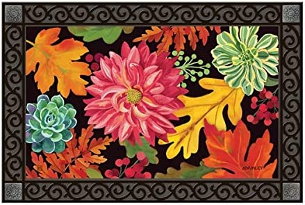 MatMates Vibrant Mix Autumn Doormat 11754