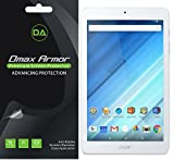[3-Pack] Dmax Armor® Acer Iconia One 8 B1-850 Anti-Glare & Anti-Fingerprint Screen Protector - Lifetime Replacements Warranty- Retail Packaging