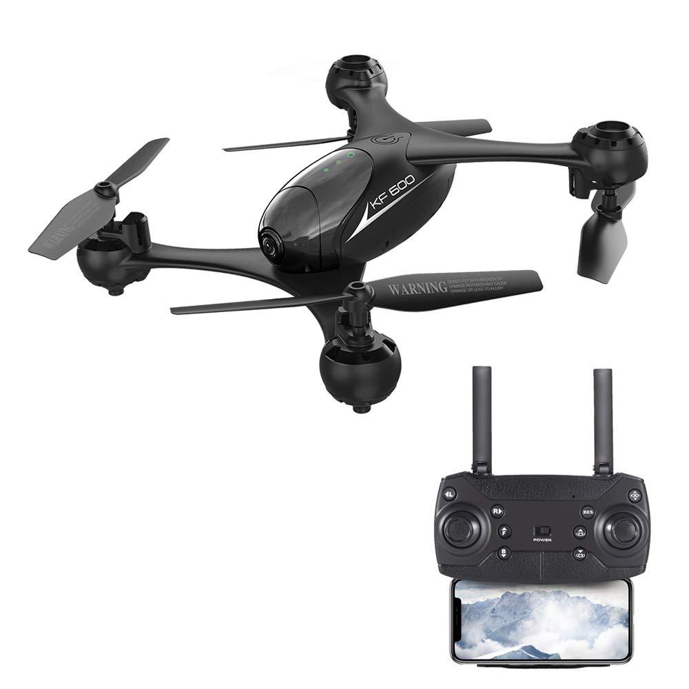 Elegantstunning KF600 Selfie Drohne FPV FPV FPV RC Qudacopter mit doppelter 720P HD Kamera Dron Höhenhaltung, Helciopter Optischer Follow Mode a1d9e7