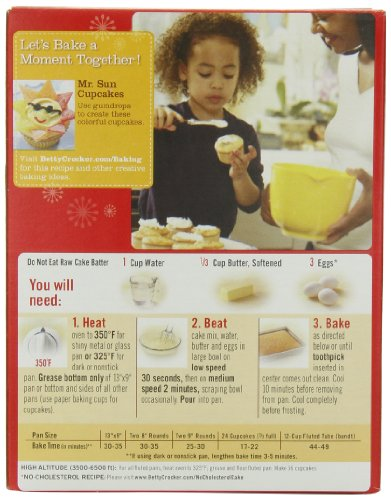 Betty Crocker Lemon Cake Mix Directions
