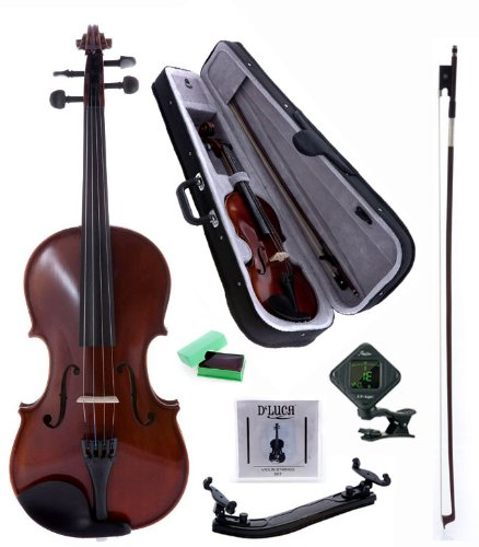 599 Wood (D'Luca POD01 Orchestral Series Violin Outfit - 4/4)