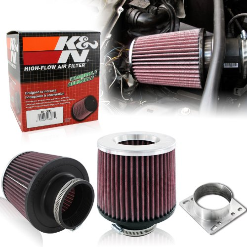 """K&N RR-3003 Reverse Conical Universal 3"""" Air Filter w/ Adapter"""