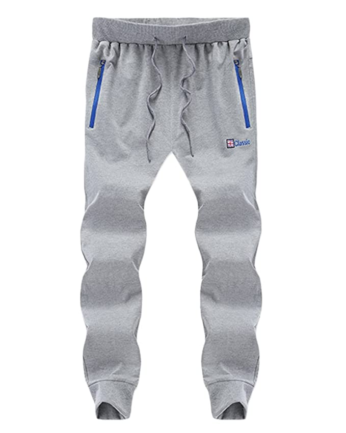 Hombre Pantalones de chándal Pantalones de chándal Nuevo Slim ...