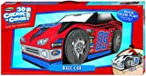 RoseArt 3D Create 'N' Color Cardboard Race Car Coloring and Assembly Set (43468)