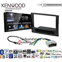 Volunteer Audio Kenwood DDX9704S Double Din Radio Install Kit with Apple Carplay Android Auto Fits 2006-2008 Ram