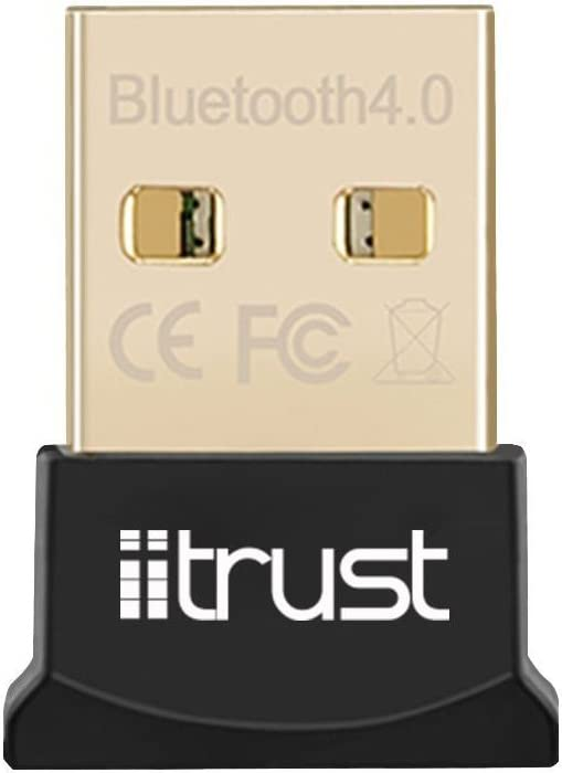 iitrust - Adaptador Bluetooth, USB nano Bluetooth V4.0 Adaptador / USB Dongle Adaptador CSR 4.0, color negro