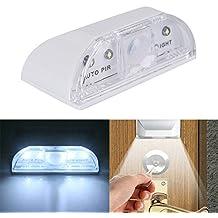 Sammid PIR Infrared Detection Motion Sensor Night Lights, Home Door Keyhole Light Environmental protection and energy saving