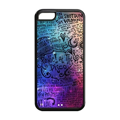 Panic At The Disco Cute Fashion Slim Thin Protective Glossy Silicone TPU Gel Skin Back Shell Case Cover for iPhone 5 (Nokia 6233 Case)