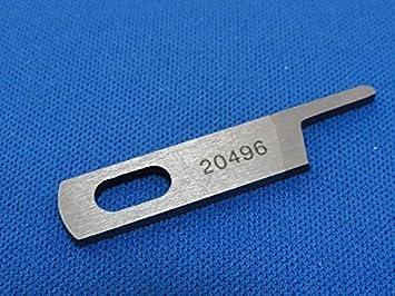 Yamato Industrial máquina de coser superior hoja,, Generic, parte no: 20496: Amazon.es: Hogar