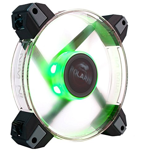 InWin Polaris RGB Single Fan 120mm High Performance Silent Cooling Computer Case Fan Clear 120 Single