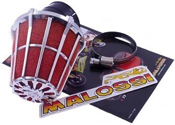 Luftfilter MALOSSI E5 30 Grad PHBH 20-25 Anschluss 38mm f/ür GILERA Runner FXR DD 180 ZAPM08 2T LC 99-03