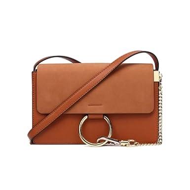 16b321ba173c9 Yy.f Trend Der Neuen Weiblichen Tasche Rund Messenger Bag Kette Paket  Kleine Quadratische Tasche