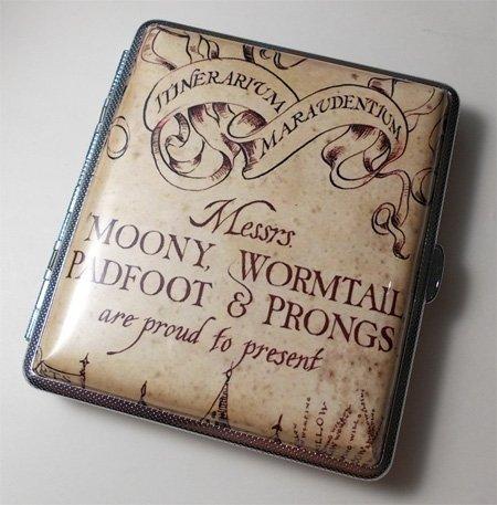 Harry Potter Marauders Map Cigarette Case Wallet