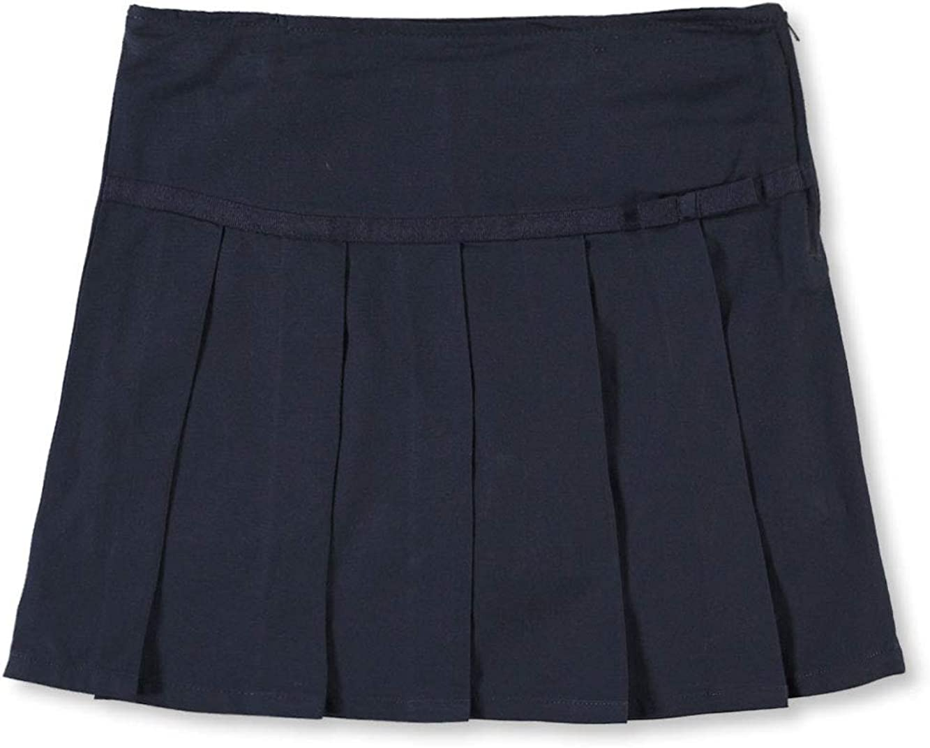 French Toast School Uniform Girls Pleated Scooter with Grosgrain Ribbon
