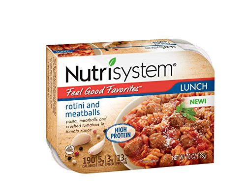 Nutrisystem® Feel Good Favorites Rotini and Meatball, Pack of 6
