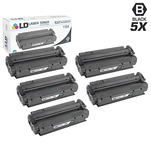 LD Compatible Toner Cartridge Replacement for HP 15X C7115X High Yield (Black, ()