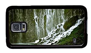 Hipster Samsung Galaxy S5 Case on sale Waterfall Background PC Black for Samsung S5