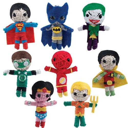 DC Comics String Dolls (8 Piece Set) -