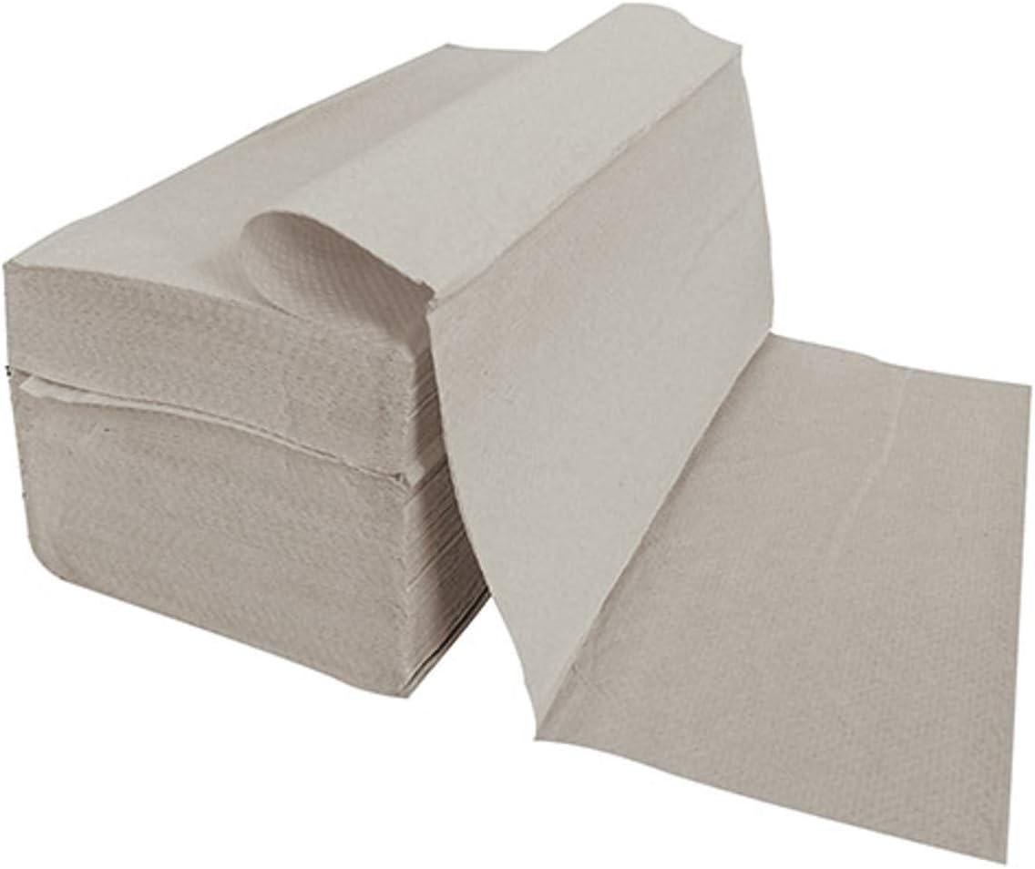 5000 Stück Papierhandtücher Natur 25x23 Cm Zz Falz Recycling Küche Haushalt