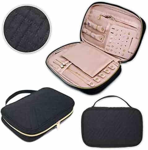5e8c3997b Juniper Aspen Travel Jewelry Organizer: Jewelry Case for Traveling Storage, Travel  Jewelry Roll,