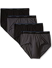 Hanes Men's 4 Pack Comfort Blend Dyed Brief