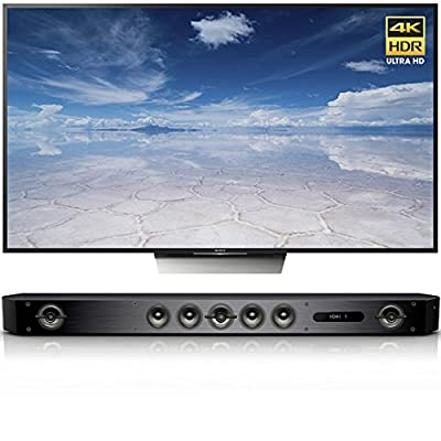 Sony X850D 75'' HDR Android TV w/ Sound Bar Speaker System & Wi-Fi/Bluetooth